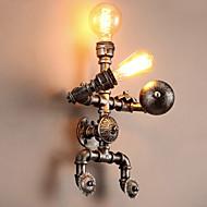 billige Vegglamper-CXYlight Rustikk / Hytte / Vintage / Original Vegglamper Metall Vegglampe 110-120V / 220-240V 60W