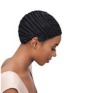 Wig Accessories פלסטי כובעי ראש לפיאות 1 pcs יומי קלסי שחור