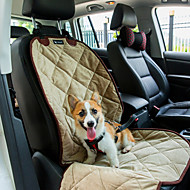 Cat Dog Car Seat Cover Pet Mats & Pads Waterproof Portable Soft Black Beige Brown