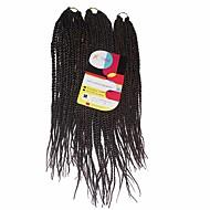 Senegal 100% kanekalon kose Ekstenzije od ljudske kose Twist pletenice Sušilo za pletenice Dnevno