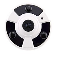 strongshine® 2,0 mp nettverk hd 180 graders vidvinkel panorama ir dome-kamera