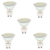 gu10 gx5.3 led spotlight mr16 48led smd 2835 300lm varm hvit kald hvit 2700k / 6500k dekorative