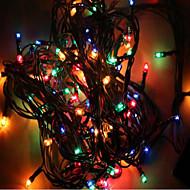 mx-qcd 100l 10 meter versieren lichten snaar brengen vakantie boom lichten knipperen automatische kleur veranderende