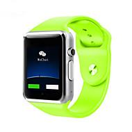 tanie Inteligentne zegarki-Inteligentny zegarek Ekran dotykowy Spalone kalorie Krokomierze Kamera/aparat Śledzenie odległości Informacje Odbieranie bez użycia rąk