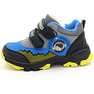 baratos Sapatos de Menino-Para Meninos Sapatos Couro Ecológico Primavera Tênis Tênisq para Laranja / Azul / Azul Claro