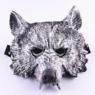 animal de borracha assustador do dia das bruxas lobo cabeça do lobo máscara cabeça halloween mascarada máscara de cosplay festa fantasia