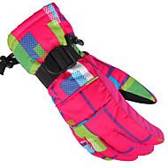 スキー手袋 スポーツグローブ / ウインター 女性用 / 男性用 / フリーサイズ スポーツグローブ 保温 / 防滑り / 防水 / 高通気性 / 耐摩耗性 / 防風性 / 耐雪性 / 耐久性 / フリースライナーつき / 人間工学デザインサイクリング / スキー /