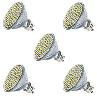 3,5 gu10 gx5.3 led spotlight mr16 80led smd 2835 400-450lm varm hvit kald hvit 2700k / 6500k dekorative
