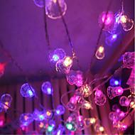 הוביל אור מנצנץ אורות מהבהבים מנורות כדור קלאסי נברשות 9 מטר 40 שקע מנורה