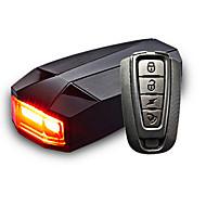 billige Sykkellykter og reflekser-Sykkellykter bar end lys Baklys til sykkel LED - Sykling Sensor Fjernkontroll Oppladbar Vanntett Lithium-batteri 100 Lumens Batteri Rød
