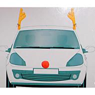 1本のおしゃれなデザインの車の装飾クリスマスの飾り車の枝角
