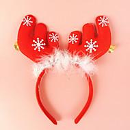2stk gevirer med klokke ører pandebånd hoved spænde ferie kjole makeup julepynt rekvisitter