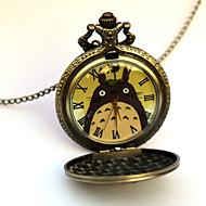 นาฬิกาแขวน / นาฬิกาข้อมือ แรงบันดาลใจจาก โทโทโร่เพื่อนรัก Eren Jager การ์ตูนอานิเมะ ชุดแฟนซี นาฬิกาแขวน / นาฬิกาข้อมือ โลหะผสม สำหรับผู้ชาย เสื้อผ้าสำหรับวันฮาลาวีน