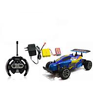 Fjernstyret bil 566-106 4 Kanal 2.4G 4WD Højhastighed Driftbil Off Road Car Bil Buggy (Offroader) 1:10 Børste Elektrisk * KM / H