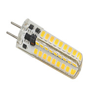 GY6.35 LED Bi-pin Lights T 72 SMD 2835 320-350 lm Warm White K Dimmable AC/DC 12 V 1pc