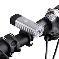 billige Sykkellykter og reflekser-Sykkellykter LED LED Sykling Oppladbar Mulighet for demping Vanntett Lithium-batteri 70 LUX Lumens Usb Naturlig hvit