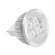 billige Spotlys med LED-400-450lm GU5.3(MR16) LED-spotpærer MR16 LED perler Høyeffekts-LED Varm hvit Kjølig hvit 85-265V 12V