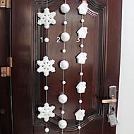1db hab hópehely karácsonyi kellékek medál bevásárlóközpont ablakdísz (stílus véletlenszerű)