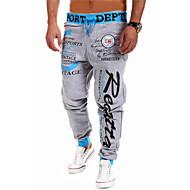 Bărbați Relaxat Larg Activ Talie Medie,strenchy Activ Pantaloni Sport Pantaloni Scrisă