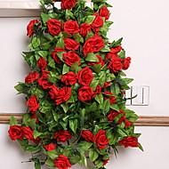 billige Kunstig Blomst-Kunstige blomster 1 Afdeling minimalistisk stil Roser Vægblomst