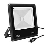 baratos Focos-1pç 30 W Focos de LED Impermeável Branco Quente / Branco Frio 85-265 V Iluminação Externa