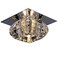 cheap Ceiling Lights-LightMyself™ Modern / Contemporary Flush Mount Downlight - Crystal Mini Style, 110-120V 220-240V Bulb Included