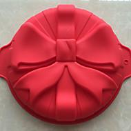 Недорогие -1 шт хлеба формы выпечки формы торт формы 3d жидкий силиконовый цвет случайных