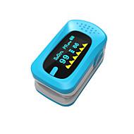 abordables Electrónicos de Cuidado Personal-pantalla manual de oxímetros de pulso lcd ying shi con la batería de almacenamiento de voz / de memoria blanco / rojo / verde / azul / naranja