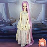 Naisten Synteettiset peruukit Suora Pinkki Doll Wig puku Peruukit