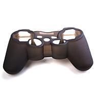 Case em Silicone para Comando PS3 (Preto)