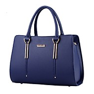 cheap -Women's Bags PU Tote Rivet for Event / Party / Shopping / Sports Light Blue / Royal Blue / Lavender