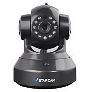 billige Innendørs IP Nettverkskameraer-VStarcam C37A 1.3 MP Innendørs with IR-kutt Primær 64(Dag Nat Bevegelsessensor Dobbeltstrømspumpe Fjernadgang Plug and play IR-klip) IP