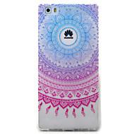 huawei y5ii y6iiケースカバーブルーキャンパーナパターン塗装tpu素材電話ケースfor y625 y635 5x p9 p8 lite