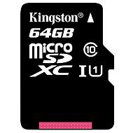 tanie Karty pamięci-Kingston 64 GB Micro SD TF karta karta pamięci UHS-I U1 / Class10