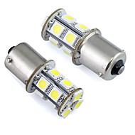 2pcs Bil Elpærer 1W SMD 5050 LED Baglygte