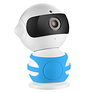 billige Utendørs IP Nettverkskameraer-SANNCE I21AH 1.3 MP Innendørs with IR-kutt 64(Dag Nat Bevegelsessensor Fjernadgang Plug and play Wi-Fi Beskyttet Setup IR-klip) IP Camera