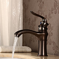 cheap Oil-rubbed Bronze Series-Antique Deck Mounted Floor Standing Ceramic Valve One Hole Single Handle One Hole Oil-rubbed Bronze, Bathroom Sink Faucet Kitchen faucet