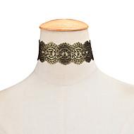 Dámské Obojkové náhrdelníky Šperky Flower Shape Krajka Módní Přizpůsobeno Šperky Pro Párty Narozeniny Denní Ležérní Vánoční dárky