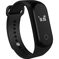 tanie Inteligentne zegarki-Inteligentne Bransoletka GPS Pulsometr Video Kamera/aparat Dźwięk Odbieranie bez użycia rąk Obsługa wiadomości Obsługa aparatu