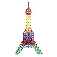 Magnetische Bauklötze Magnetsticks Magnetische Fliesen 157 pcs Eltern-Kind Spiele Eiffelturm Magnetisch Neuartige Jungen Mädchen Spielzeuge Geschenk