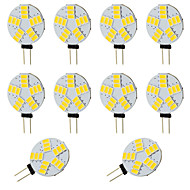 abordables -10pcs 2W 360 lm G4 LED à Double Broches T 15 diodes électroluminescentes SMD 5730 Blanc Chaud Blanc Froid DC 12-24V DC 12V