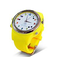 tanie Inteligentne zegarki-Inteligentny zegarek TD01 na iOS / Android GPS / Ładowanie bezprzewodowe / Odbieranie bez użycia rąk / GSM(850/900/1800/1900MHz) / GSM (900/1800/1900MHz) / GSM (900/1800 MHz)