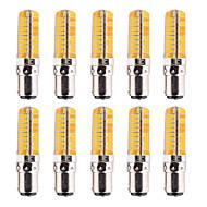 billige Kornpærer med LED-ywxlight® ba15d 7w 500-700lm 5730 80led ledd bi-pin lysdimmable varm hvit kjølig hvit ledet mais pære lysekrone lampe ac 110-220v