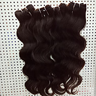 4Pcs/Lot 8-30 Brzilian Virgin Body Wave Hair Natural Black Human Hair Weave Hair Bundles Sale.