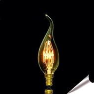 billige Glødelampe-1pc 25 lm E14 E12 E26 E27 B22 C35 leds Varm hvit AC 220V AC 85-265V