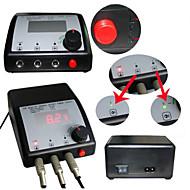 LCD 0.39 stekker professioneel elektrisch Voetschakelaar Digital Tattoo