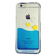 Etui Käyttötarkoitus iPhone 5 / Apple iPhone 8 / iPhone 8 Plus / iPhone 5 kotelo Virtaava neste / Läpinäkyvä Takakuori Piirretty Kova PC varten iPhone 8 Plus / iPhone 8 / iPhone SE / 5s