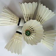 1 Kappale Sulkapallo Sulkapallo Alhainen ilmanvastus Korkea kestävyys Erittäin elastinen Kestävä varten Muovi