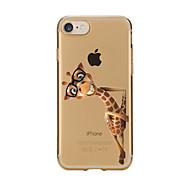 用途 iPhone X iPhone 8 iPhone 7 iPhone 6 iPhone 5ケース ケース カバー クリア パターン バックカバー ケース 動物 ソフト TPU のために Apple iPhone X iPhone 8 Plus iPhone 8