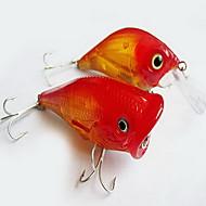 1 pcs Señuelos duros Señuelos blandos / Vinilos Cebos Señuelos duros Señuelos blandos / Vinilos Plástico blando Múltiples Funciones Que se hunde Pesca de baitcasting Pesca en General